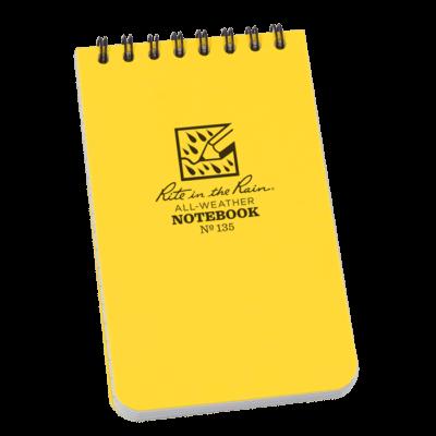 R-135 Top Spiral notebook
